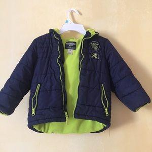 OSHKOSH hooded winter puffer jacket